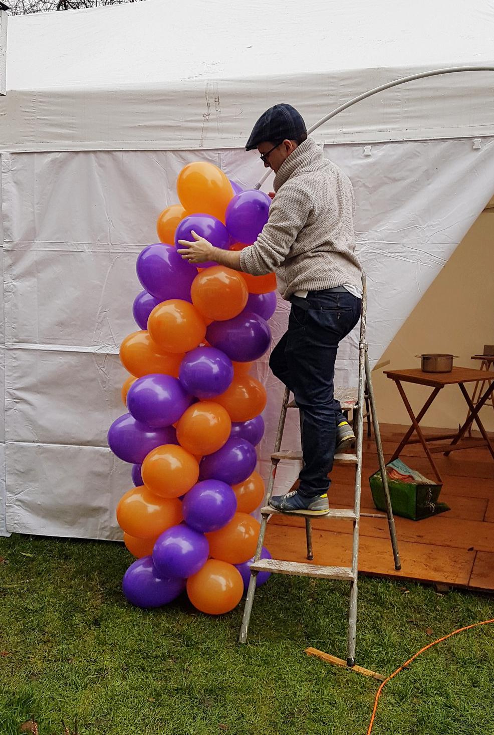 Paulmagie arche de ballons déco anniversaire