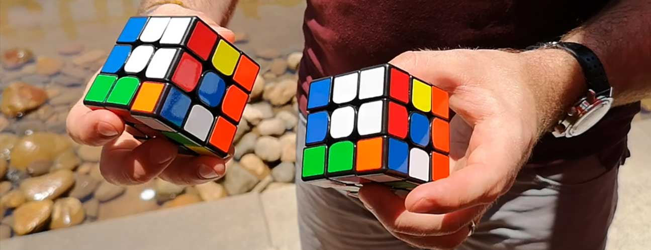 PaulMagie Rubiks cube matching